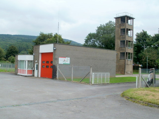Glynneath Fire Station and tower
