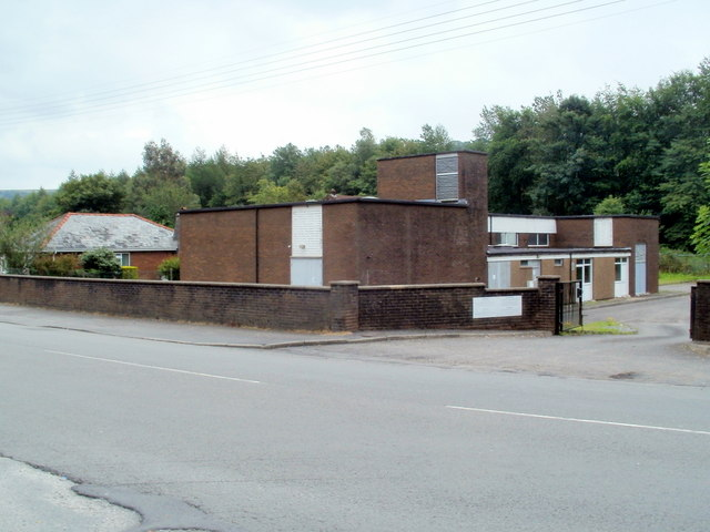 BT telephone exchange, Glynneath