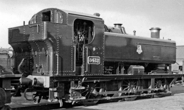 Swindon Works: a new '9400' class 0-6-0PT