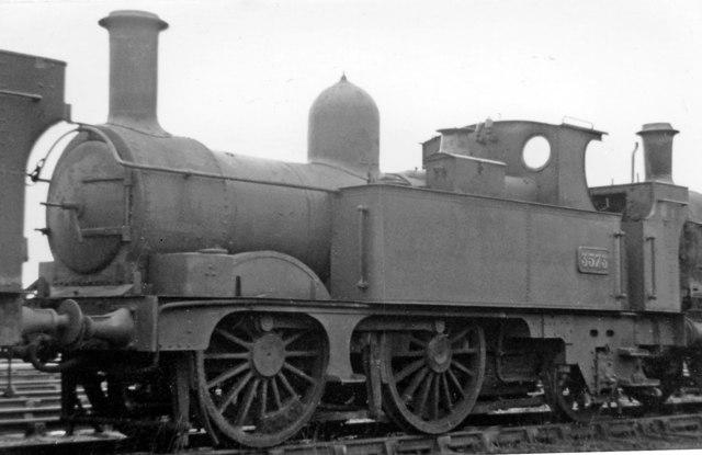 Swindon Works: '3571' class 0-4-2T on the Dump