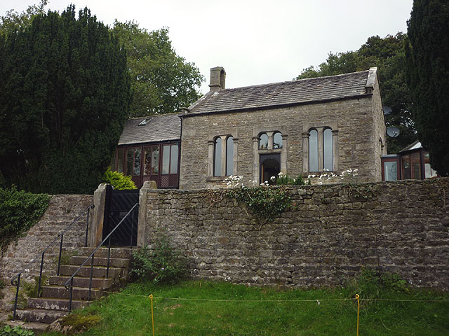 The former Church of St Ann, Littledale