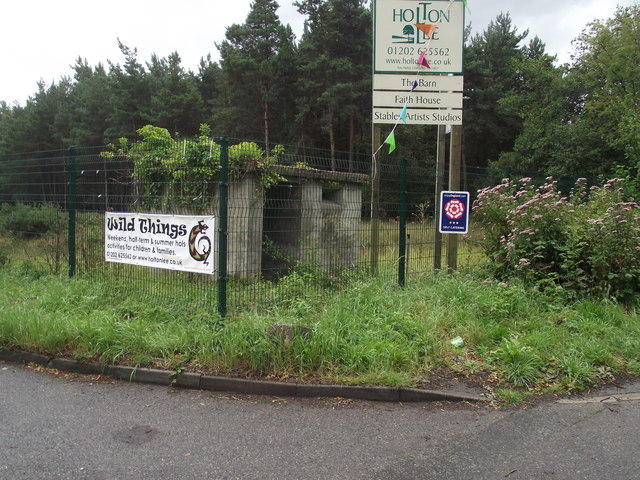 Former Naval checkpoint on Wareham Road