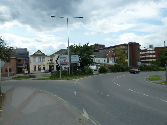 Western end of Bishopstoke Road