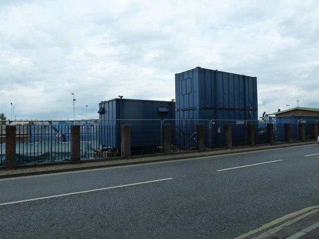 Osborne temporary offices at Eastleigh Railway Station
