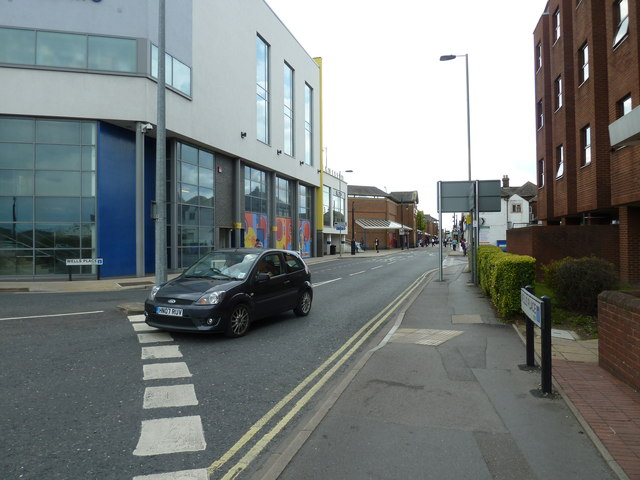 Junction of Wells Place and Southampton Road