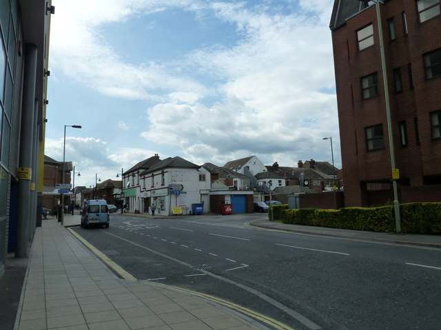 Looking from Southampton Road into Wells Place