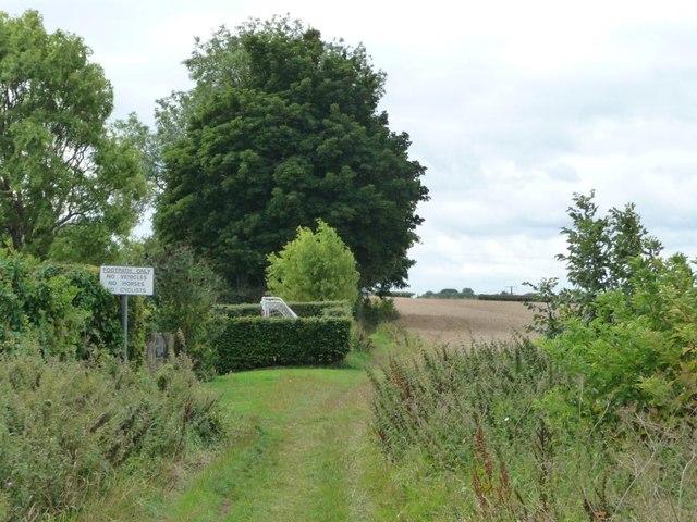 Contrasting land use, Barwick in Elmet