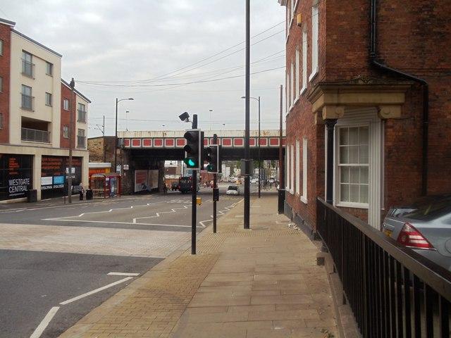 Railway Bridge over Westgate, Wakefield