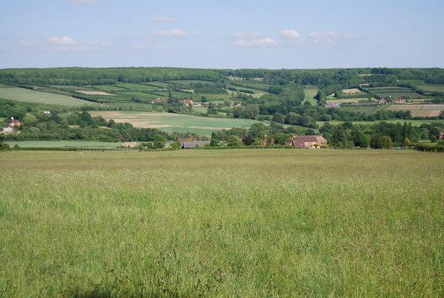 View to Dux Farm