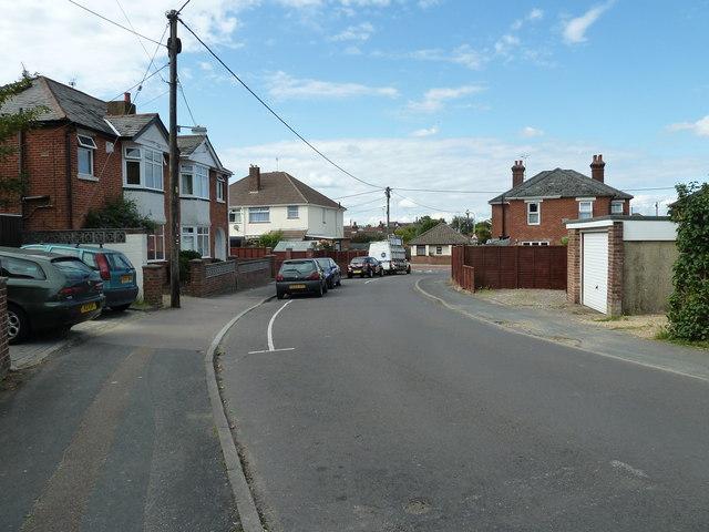 Bagber Road in June 2011