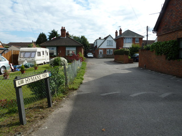 Looking from Water Lane into Hyman's Way