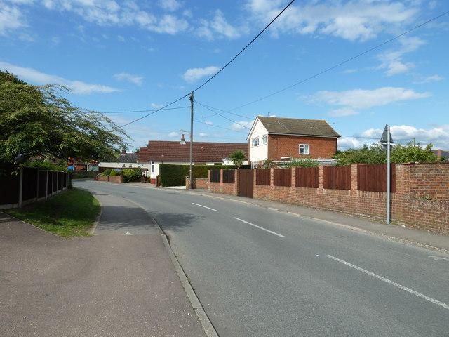 Hammond Way in June 2011