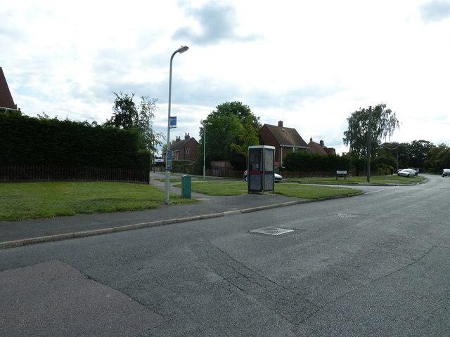 Phone box in Water Lane