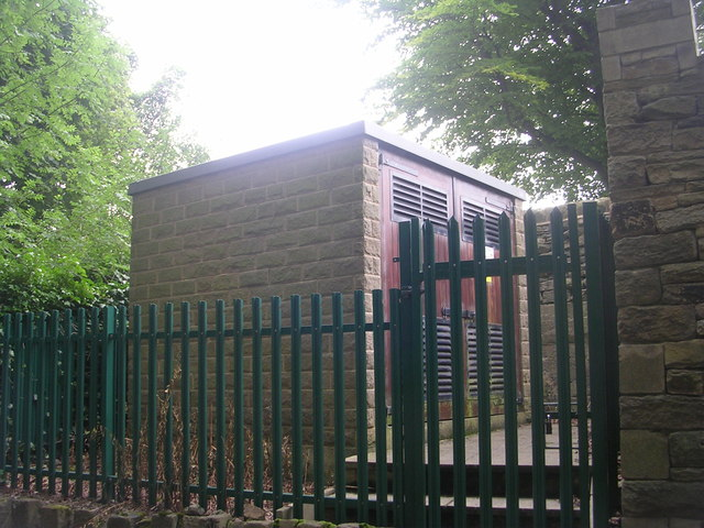 Electricity Substation No 4218 - Cragg Wood Drive