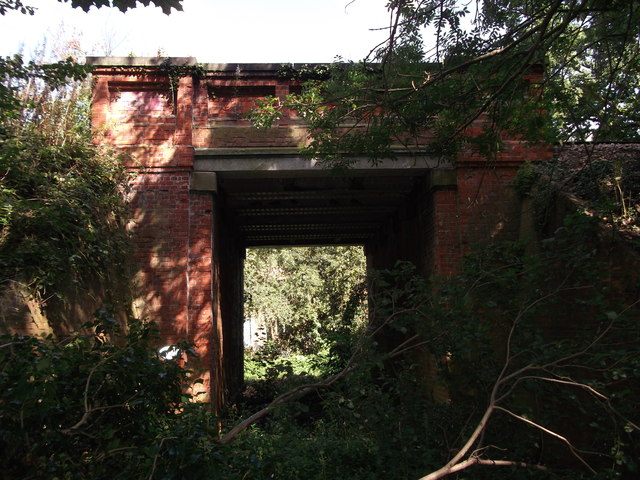 Another arch of Trepigs Lane railway Bridge