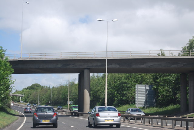 A191 access bridge over the A1
