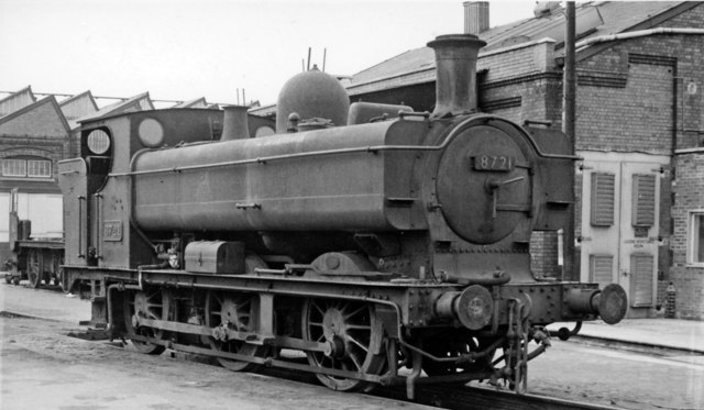 Swindon Works: withdrawn '5700' class 0-6-0T as Works Shunter