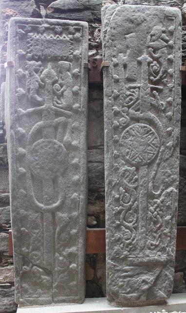 Grave slabs in Keills Chapel
