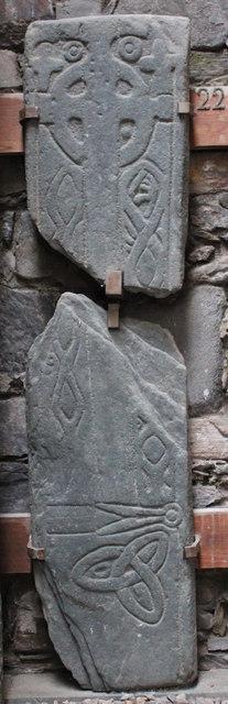 Grave slab in Keills Chapel