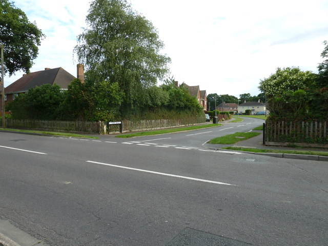 Junction of Ashby and Calmore Roads