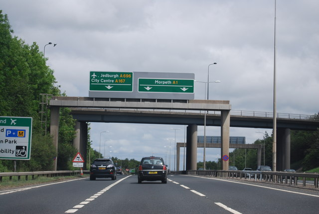 A1 near Blakelaw
