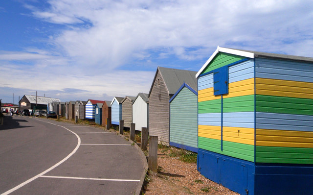 Back of the Beach Huts