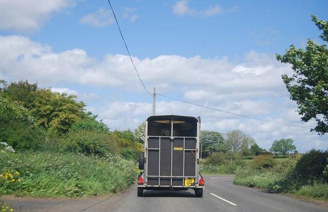 B340 - rural traffic!
