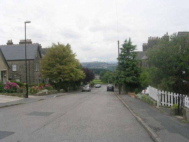 Springwood Road - looking towards Apperley Lane