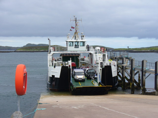 Penultimate Ferry to Barra