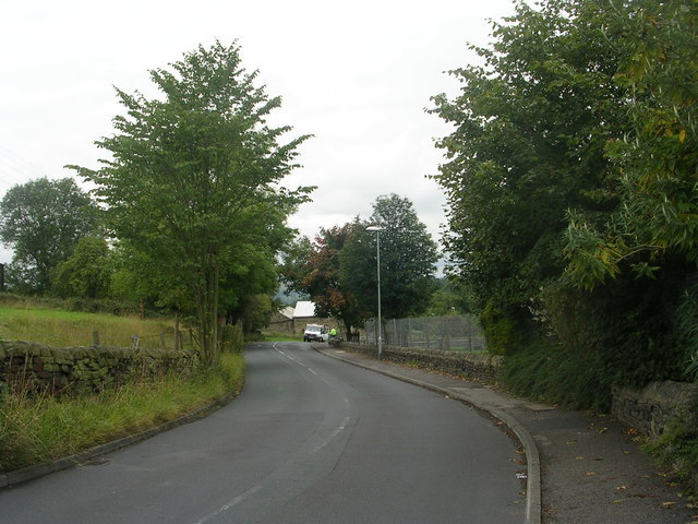 Warm Lane - viewed from near Emsley's Farm Shop