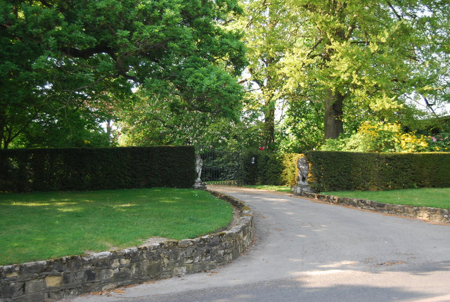Entrance to Brenchley Manor