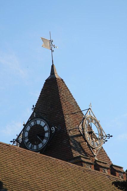 Clock Tower, St John the Baptist, Halling, Kent