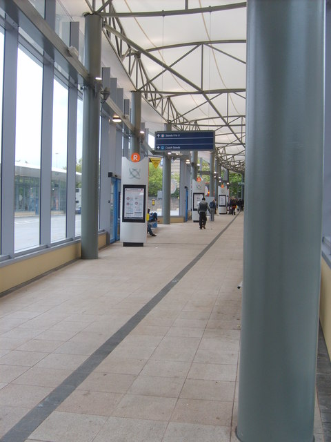 New Bus Station Interior