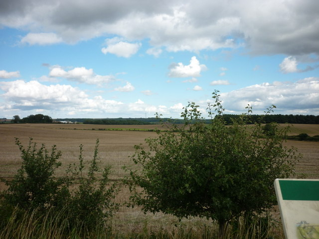The Lincolnshire Wolds from the High Street