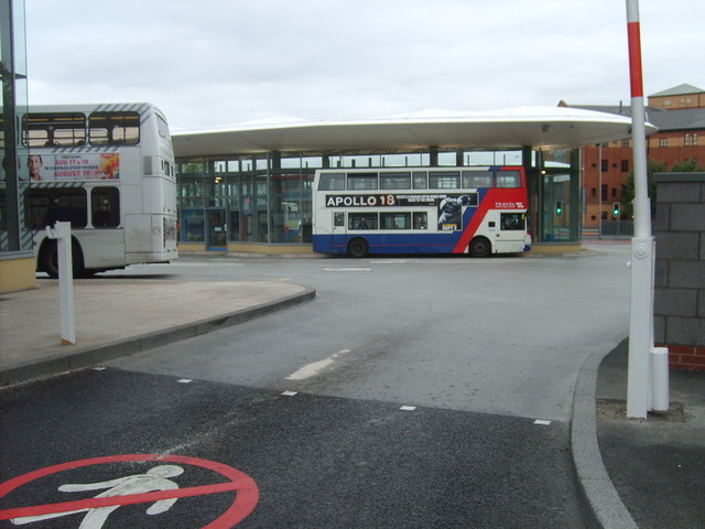 New Bus Station Entrance