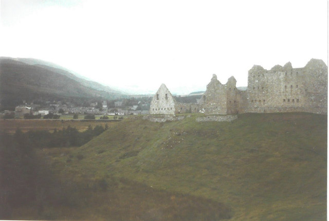 Ruthven Barracks in 1984