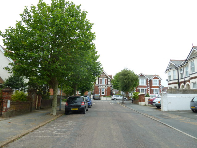 Looking up Victoria Road towards St John's Road