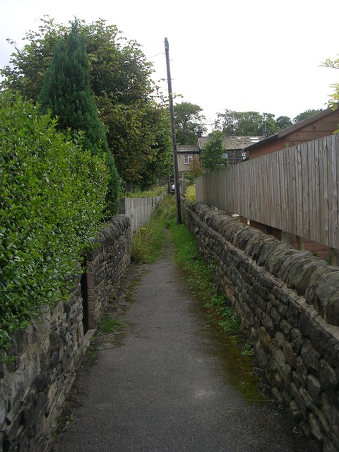 Footpath - New Road Side