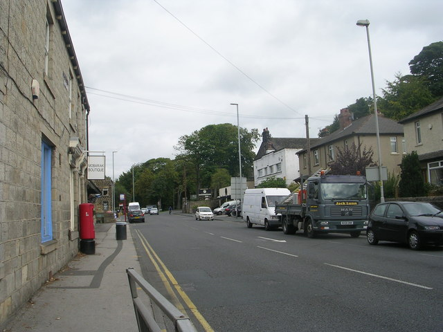 Harrogate Road - from Rawdon Cross Roads