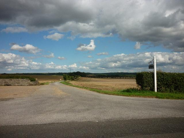 The way to Benniworth Walk Farm