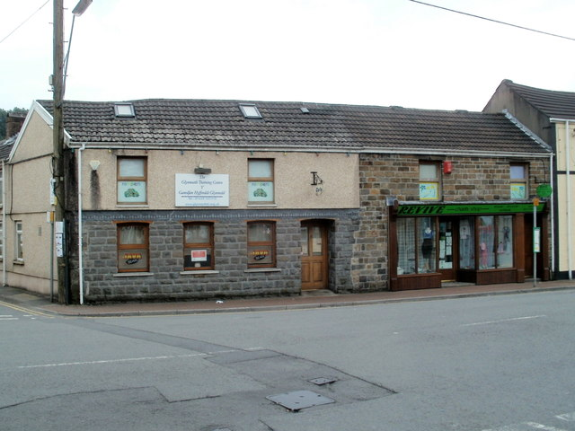 Training centre and charity shop, Glynneath