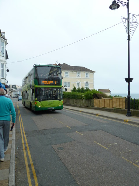 Number 3 bus in the High Street