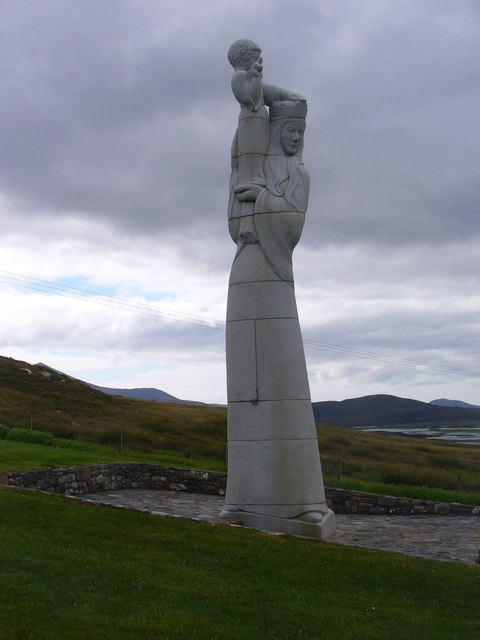 """Hew Lorimer's """"Our Lady of the Isles"""""""
