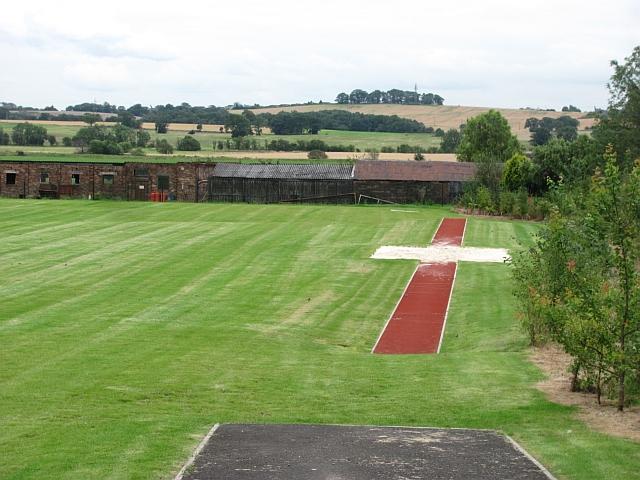 Sports field, Alva