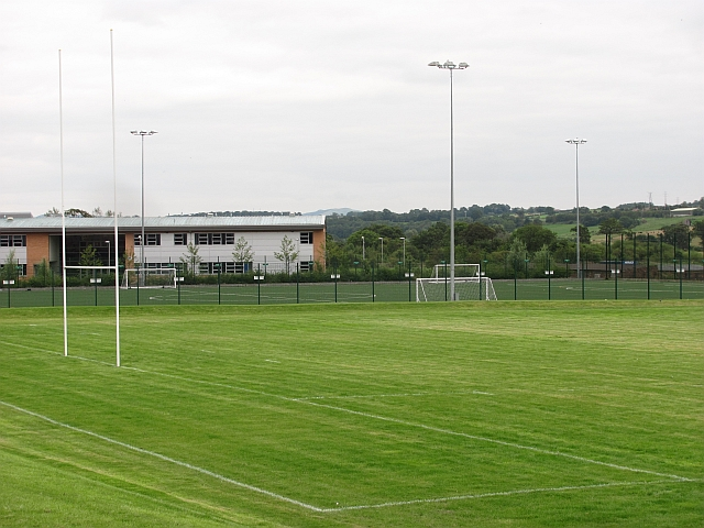 Sports field, Alva Academy