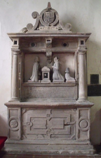 Memorial to John Witherick, Esquire Lord of Claxby