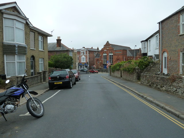 Mid section of Hill Street