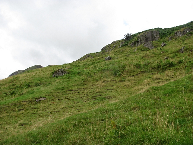 On the Ochil escarpment