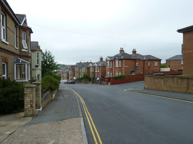 Approaching the junction of Millward Road and Well Street