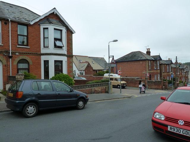 Looking across Well Street towards Albert Street
